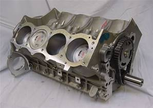 3.9V8 Short Block Assembly - Remanufactured (Ductile liners)