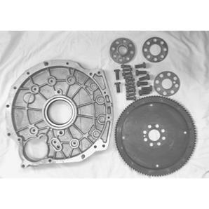 200TDI Auto Back Plate Housing and flywheel with spacers & Bolts