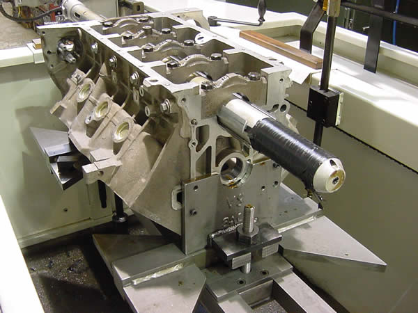 line honing of cylinder block