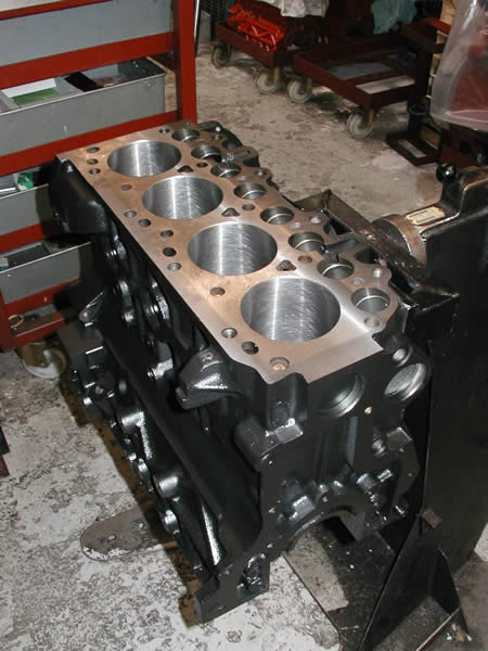 Reconditoned Engines & Engine Rebuild Process