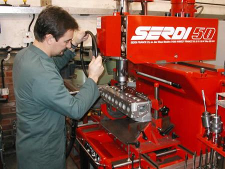 Serdi 50 machine - engine rebuild