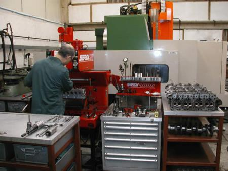 Turner Engineering cylinder heads - remanufacture