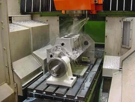 v8 block casting remanufacturing process