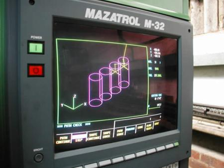 Mazatrol m-32 machine - Engine reconditioning